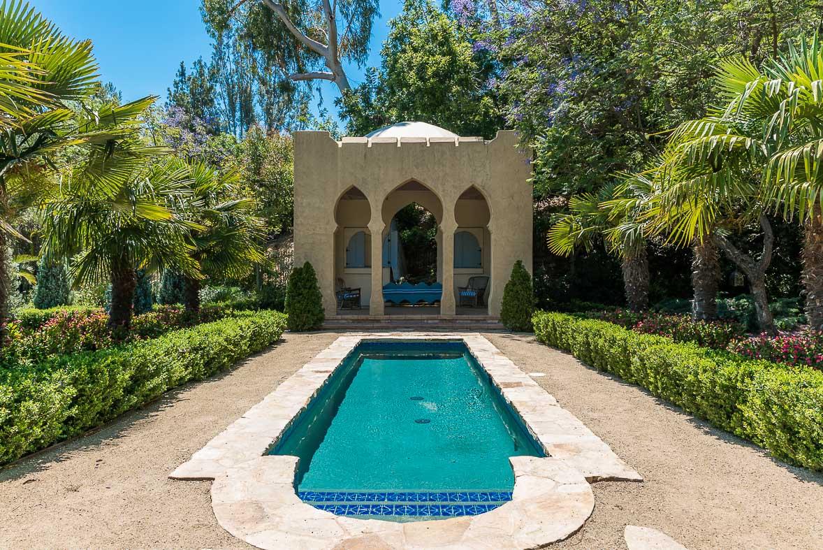 Los Angeles Film Location: Hollywood Los Angeles, Moroccan Mansion
